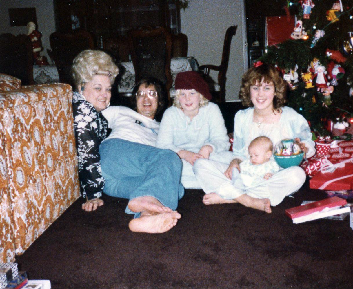 Krech Kids PSK and Nan Christmas